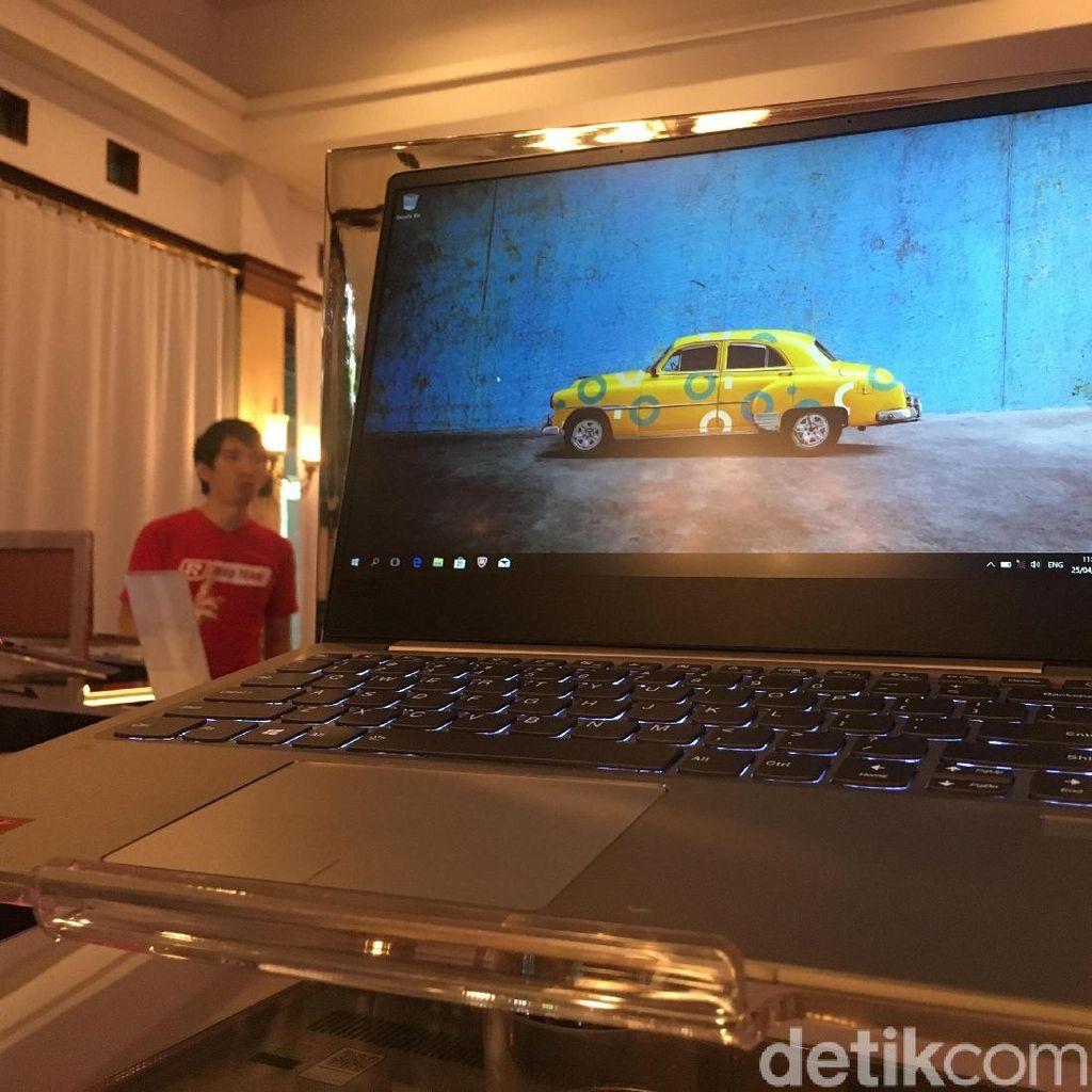 Penampakan Laptop Anyar Lenovo dengan AMD Ryzen