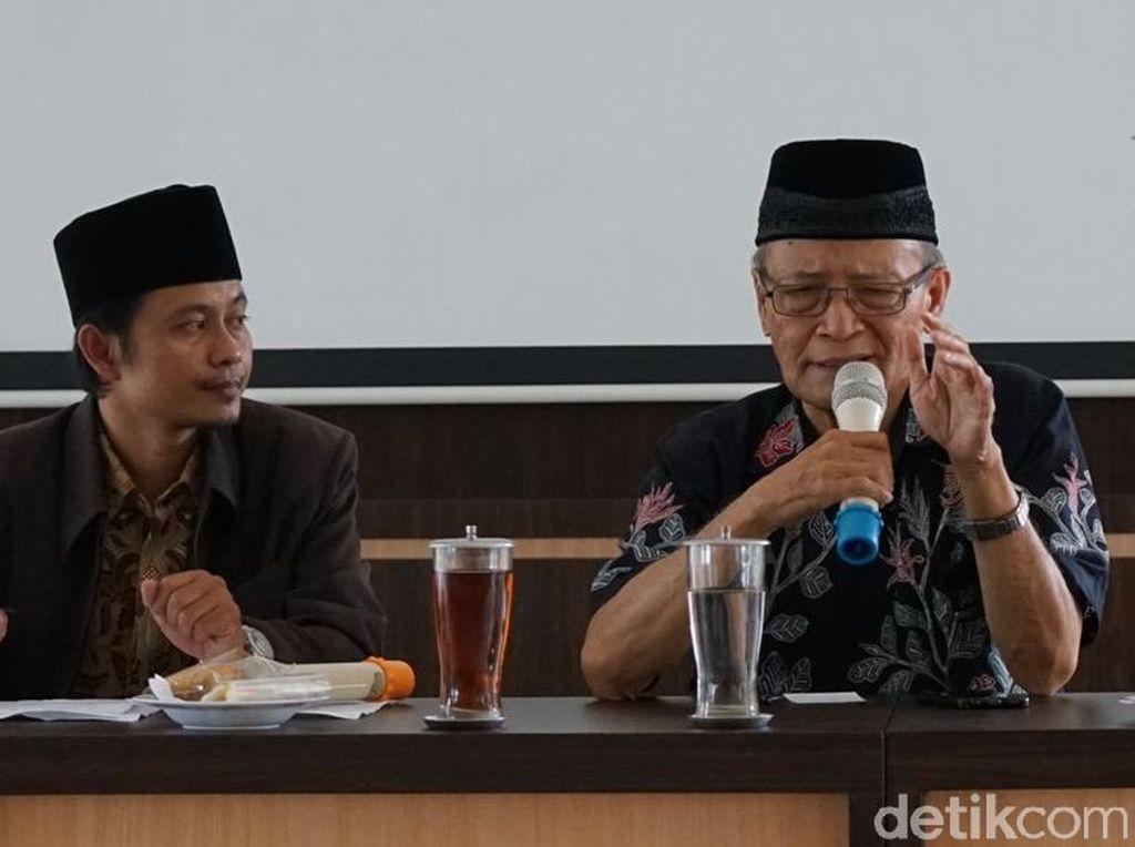 Tepis Amien Rais, Buya Syafii: Tak Benar Agama untuk Pemilu