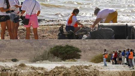 Riuh Dunia dalam Gambar: Banjir Israel-Palestina, Boracay Dibersihkan