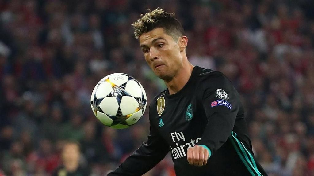 Rentetan Gol Ronaldo di Liga Champions Terhenti