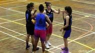 Intip Latihan Tim Basket Putri 3x3 Jelang Piala Asia