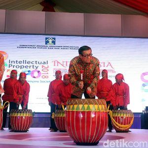Yasonna Laoly Buka Pameran Hari Kekayaan Intelektual Sedunia