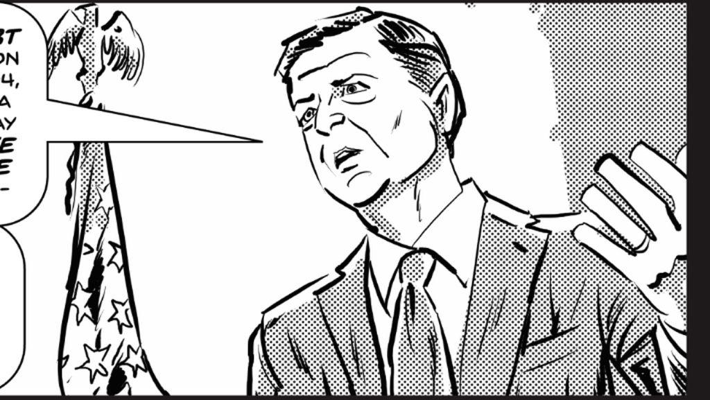 Politisi James Comey Jadi Karakter Heroik dalam Komik