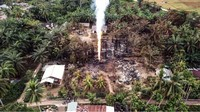 Ledakan Sumur Minyak Aceh Timur: 21 Orang Tewas, 55 KK Mengungsi