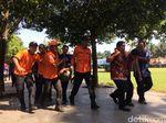 Simulasi Gempa di Jember, Warga Berlarian Selamatkan Diri