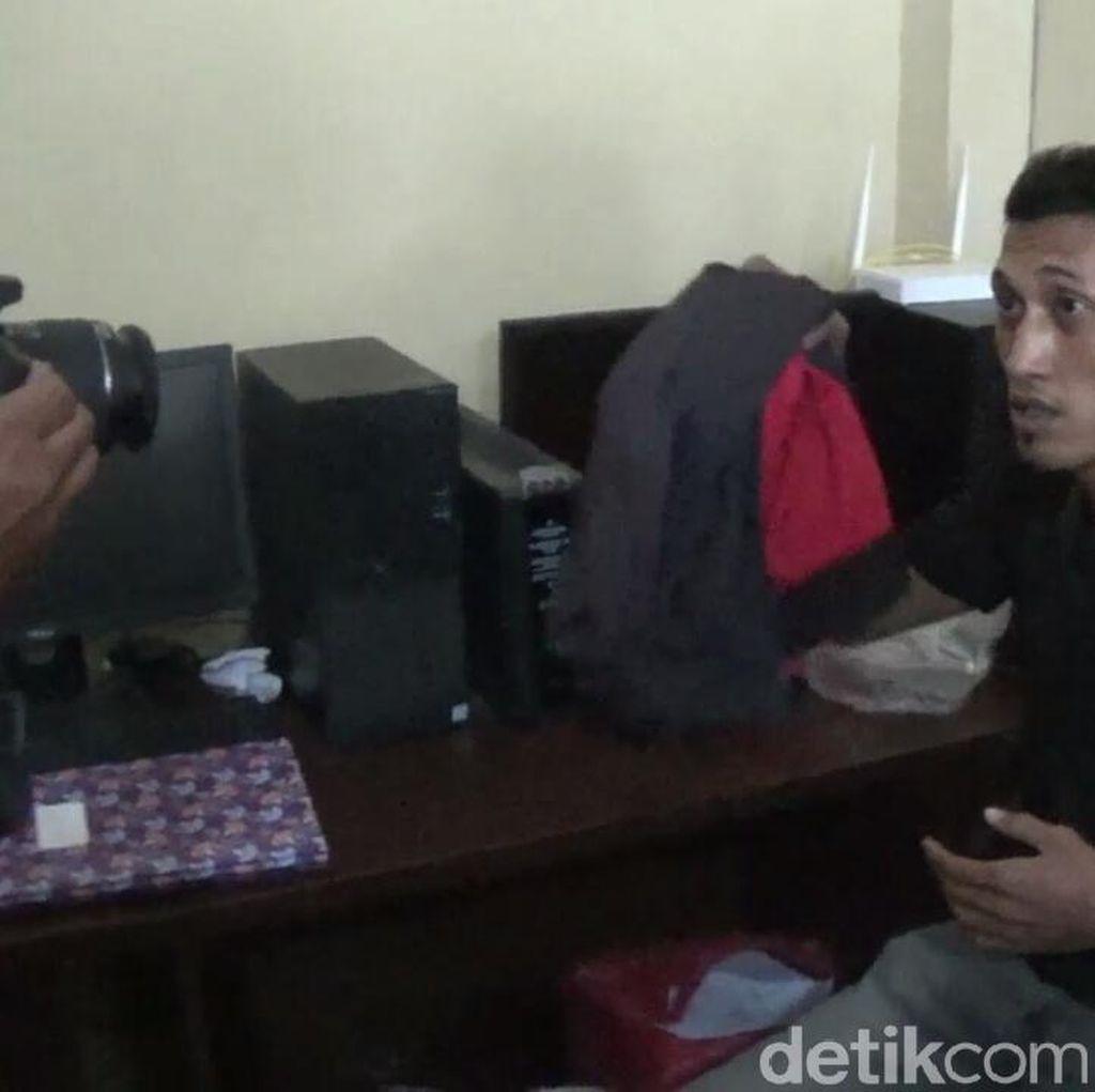 Duh! Intimidasi Polisi, Wartawan Gadungan Ditangkap