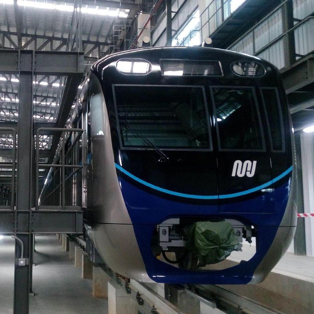 Melihat Lebih Dekat MRT Jakarta yang Segera Diuji Coba