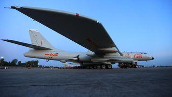 Foto Pesawat Pengebom China yang 'Patroli' Keliling Taiwan