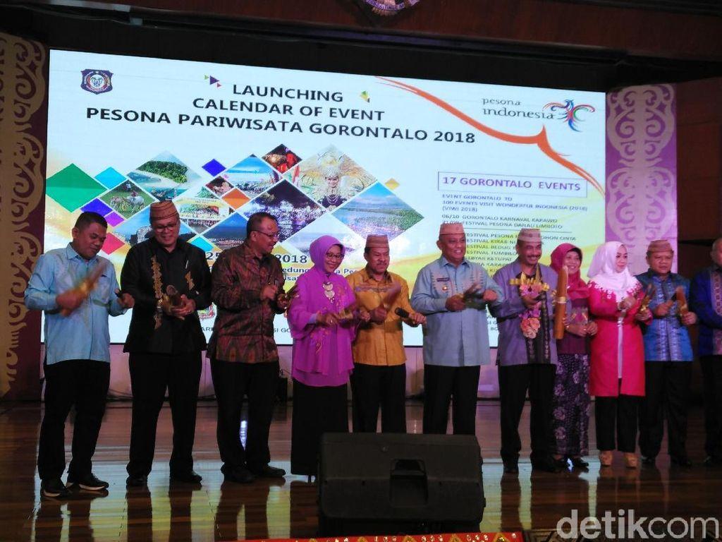 Asyik! Gorontalo Resmi Luncurkan Calendar of Event 2018