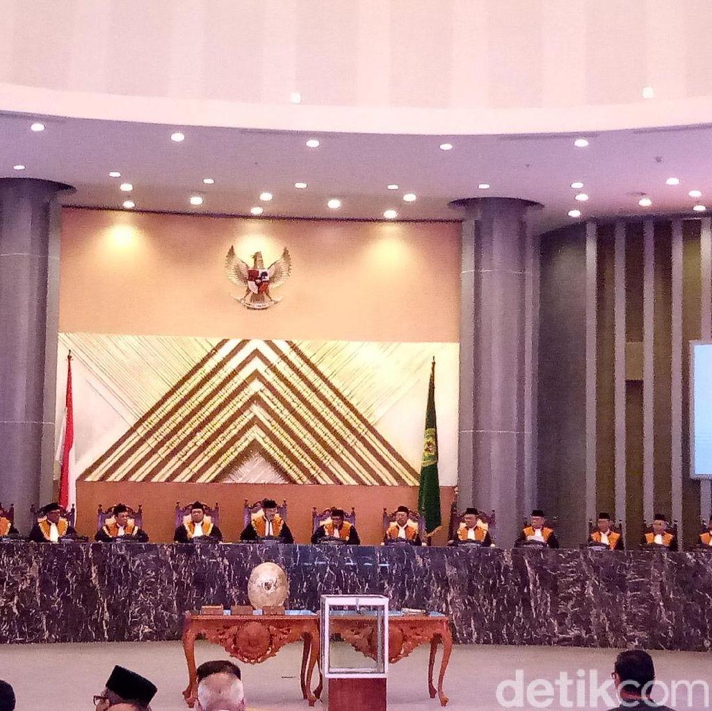 Pemilihan Wakil Ketua MA Bidang Non-Yudisial Dimulai