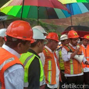 Di Bawah Payung Pelangi, Basuki Cek Tol Cisumdawu