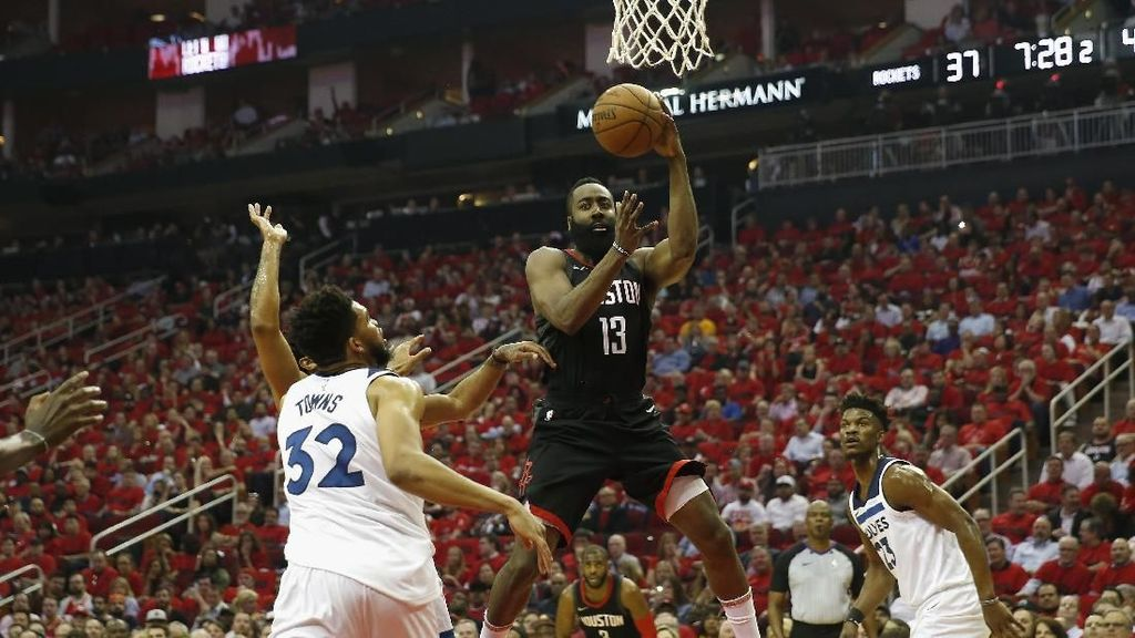Tumpas Timberwolves di Gim Kelima, Rockets ke Semifinal Wilayah Barat