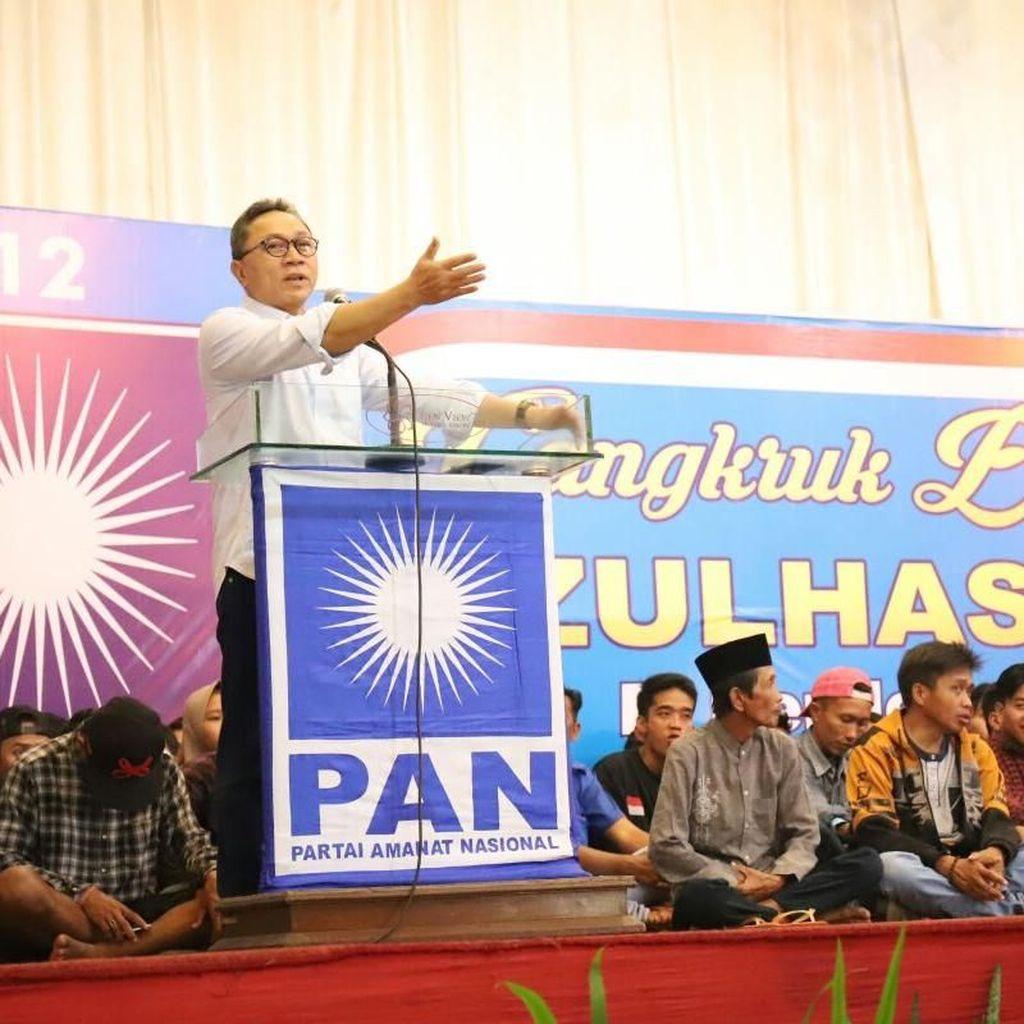 Doa Ning Nung Nang Gung untuk Zulkifli Hasan di Bondowoso