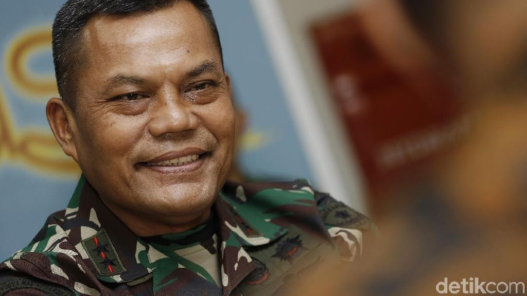 Pangdam Jaya Ngobrol Santai Bareng Redaksi detikcom