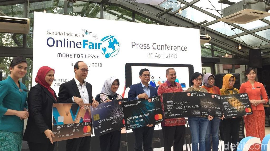 Happy Hour Garuda Online Travel Fair, Diskon Tiket Pesawat 75 Persen