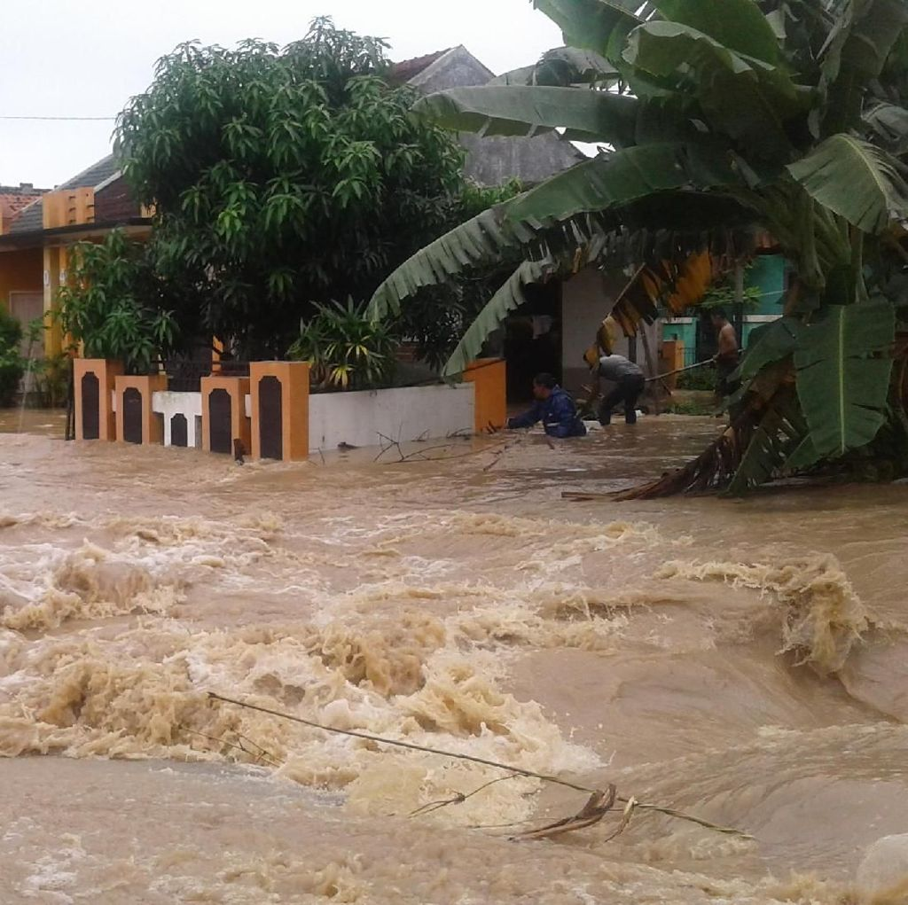 Data Sementara, 6 Ribuan Jiwa Terdampak Banjir Cilegon