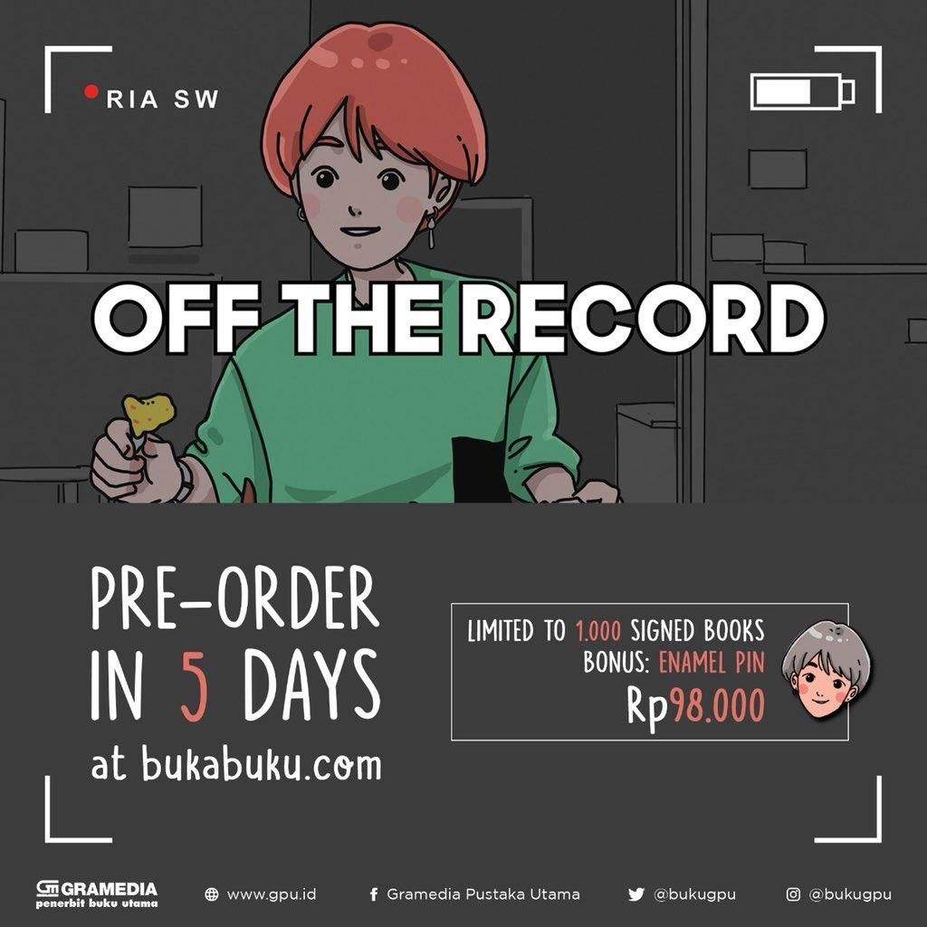 YouTuber Ria SW Terbitkan Buku Off The Record