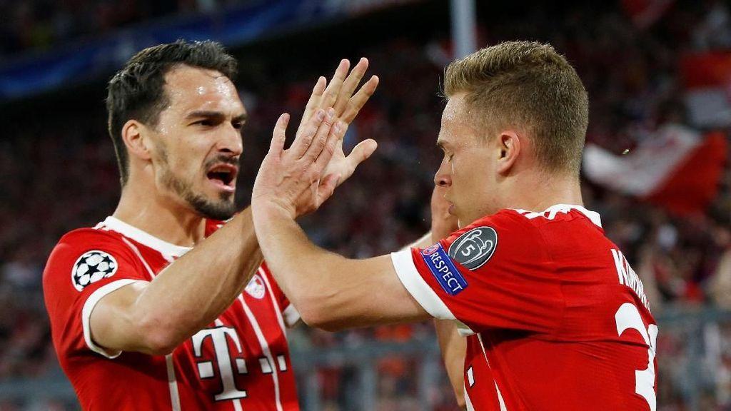 Kimmich: Bayern Harusnya Menang 7-2