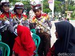 Malu Dong! Pelanggar Lalin di Bojonegoro Ditegur Polisi Cilik