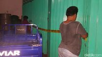 Polisi Segel Toko Kimia Pemasok Bahan Miras Oplosan