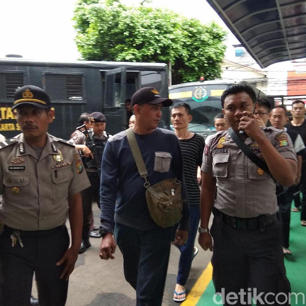 Sidang Vonis Kasus 1 Ton Sabu, Pengamanan PN Jaksel Diperketat