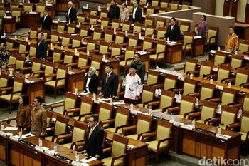 283 Wakil Rakyat Absen di Rapat Paripurna 'Penutupan' DPR