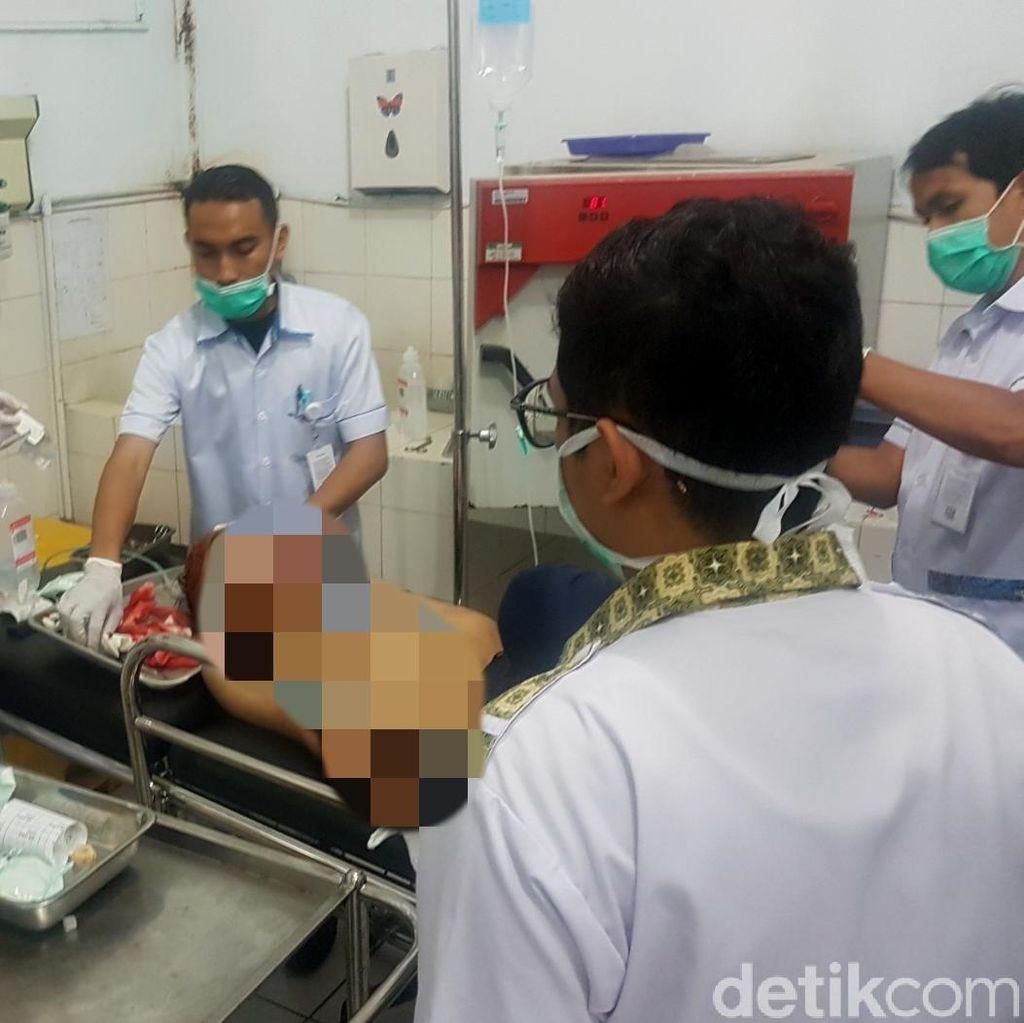 Pulang Sekolah, 2 Siswa SMK di Sukabumi Terkapar Kena Bacok