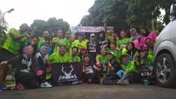 Rayakan Hari Kartini, Komunitas Ini Ajak Lari Anak-anak Berkebutuhan Khusus