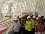 Sandiaga-JK Tinjau Sarana Asian Games di Velodrome