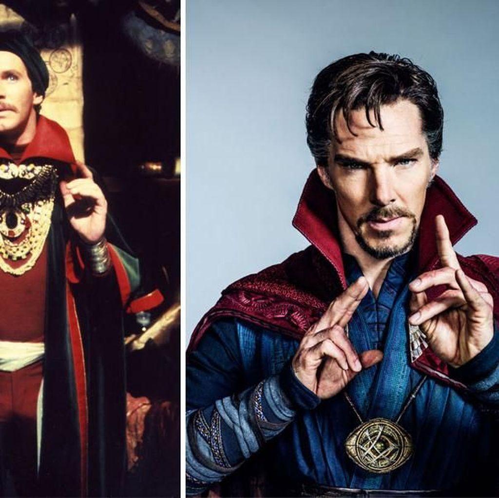 Penampilan Superhero Dulu dan Sekarang yang Kontras Banget