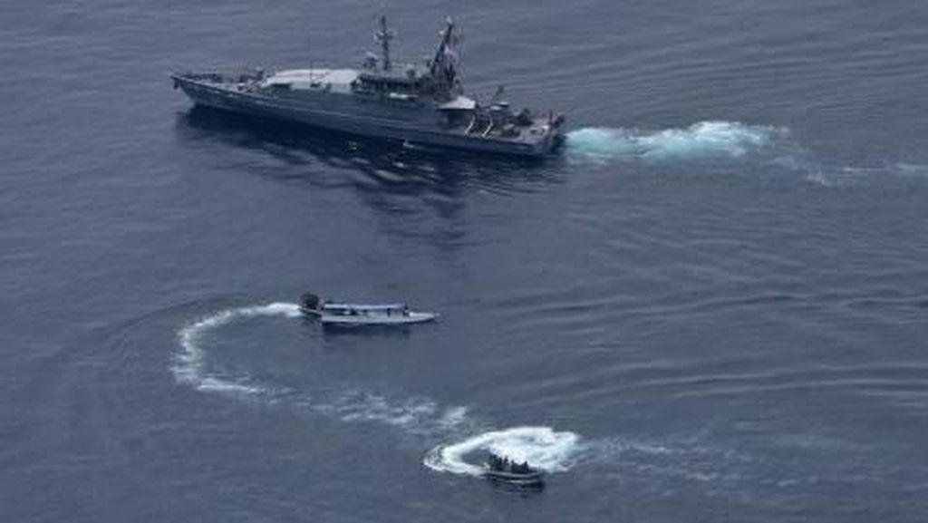 2 Kapal Nelayan Indonesia Ditangkap Australia di Laut Timor