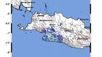 Gempa 4,2 SR Guncang Cianjur-Sukabumi