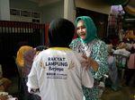 Warga Ingin Berobat Gratis, Istri Cagub Lampung Ungkap Ini