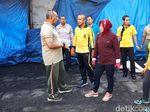 Begini Serunya Ketika Tiga Pilar Kota Surabaya Kerja Bakti Bareng