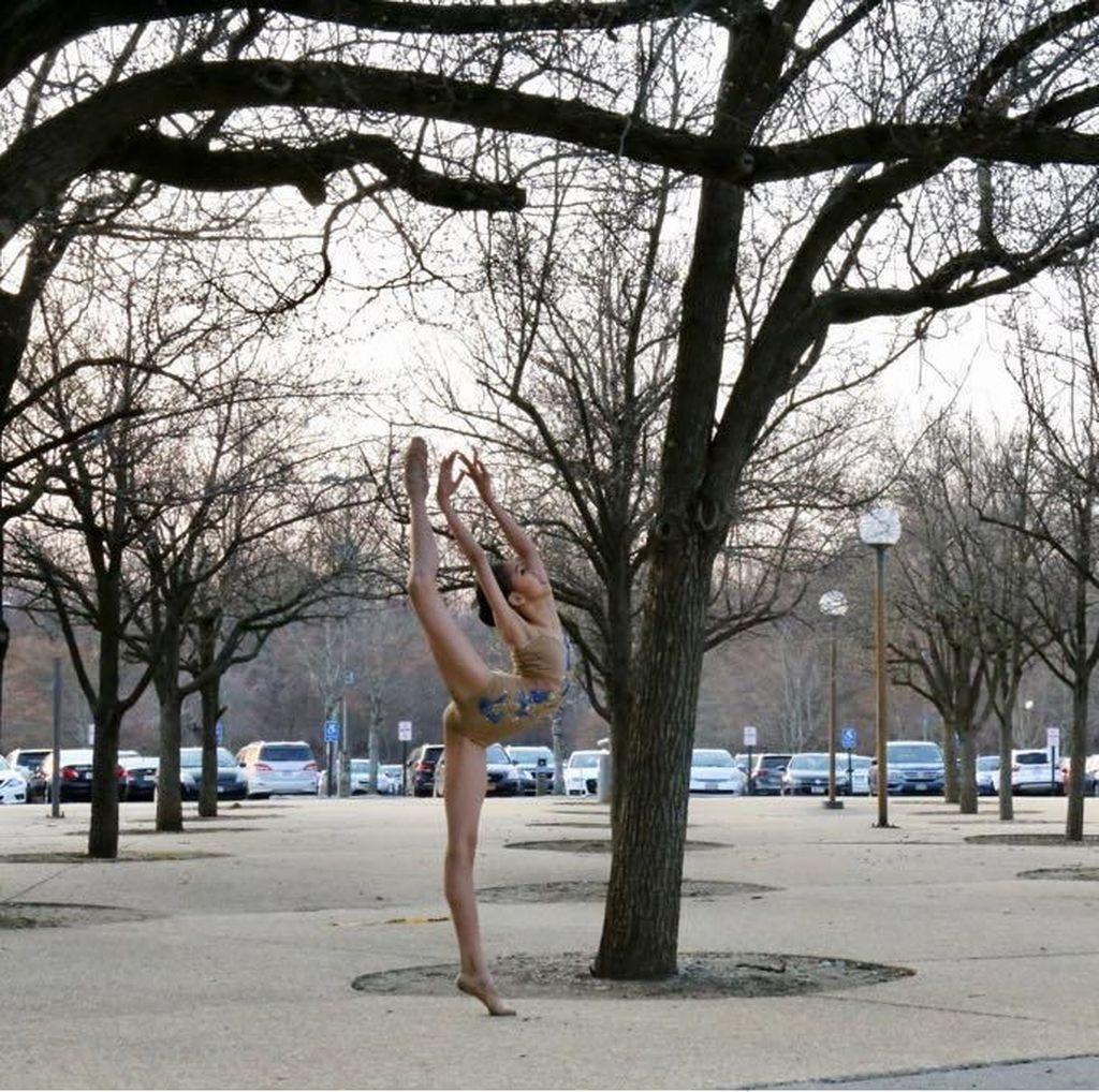 Menang Kejuaraan di AS, Rebecca Alexandria Latihan Balet dari Balita