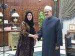 Puan Maharani Ketemu Grand Seikh Al Azhar, Bahas Apa?