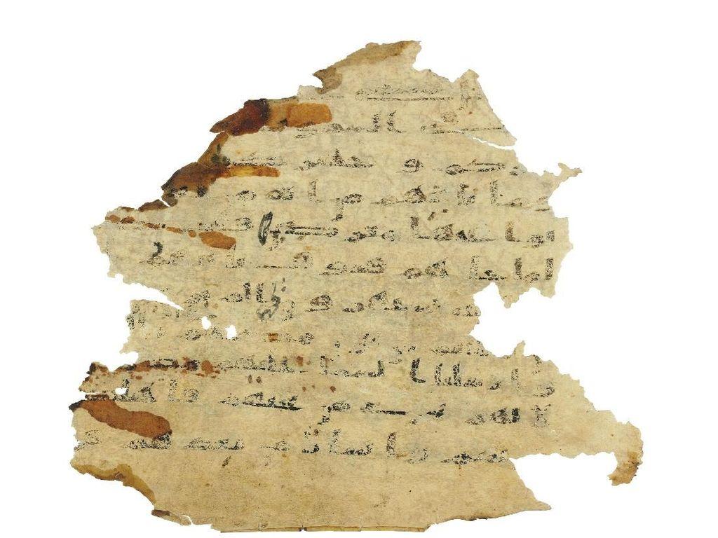 Ditemukan Ayat Alquran Ditulis di Perkamen Bekas Perjanjian Lama