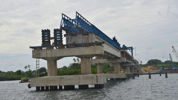 Jembatan Wear Arafura di Maluku