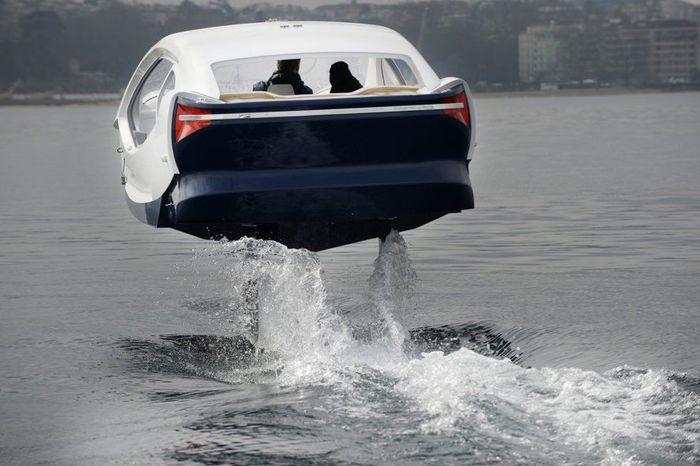 Mobil ini dapat dinaiki lima orang sekaligus. Inhabitat/Istimewa.