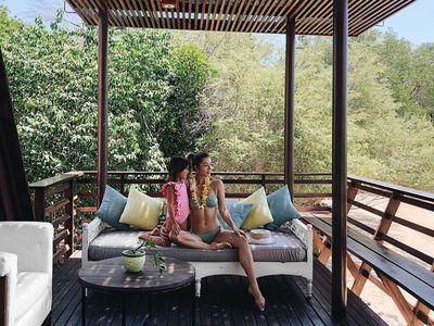 Foto: Liburannya Hot Mom Jennifer Bachdim di Bali