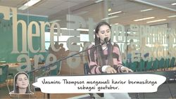Curhatan Jasmine Thompson di Single Old Friends