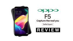 OPPO F5, Kamera Depan Pintar dengan Layar Penuh