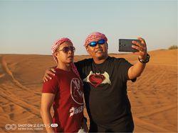 Menjajal Kecanggihan Kamera Infinix Zero 5 di Safari Gurun Pasir