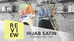 Inilah Bedanya Hijab Satin Asli dari Turki