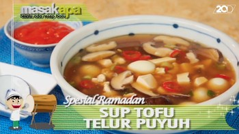 Sup Tofu Telur Puyuh