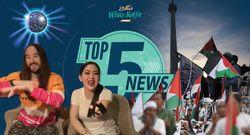Top 5 News: Aksi Bela Palestina, Syahrini Dinner Bareng Steve Aoki