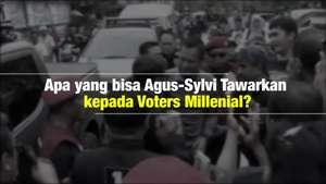 Blak-blakan: Janji Agus Sylvi kepada Voters Millenial