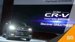 Sambutlah, Generasi Kelima All New Honda CR-V Turbo