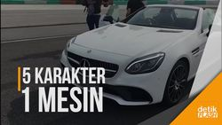 5 Karakter Transmisi C43 Coupe Mercedes