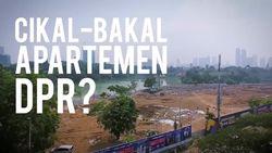 Melihat dari Langit Taman Ria Senayan, Cikal-Bakal Apartemen DPR